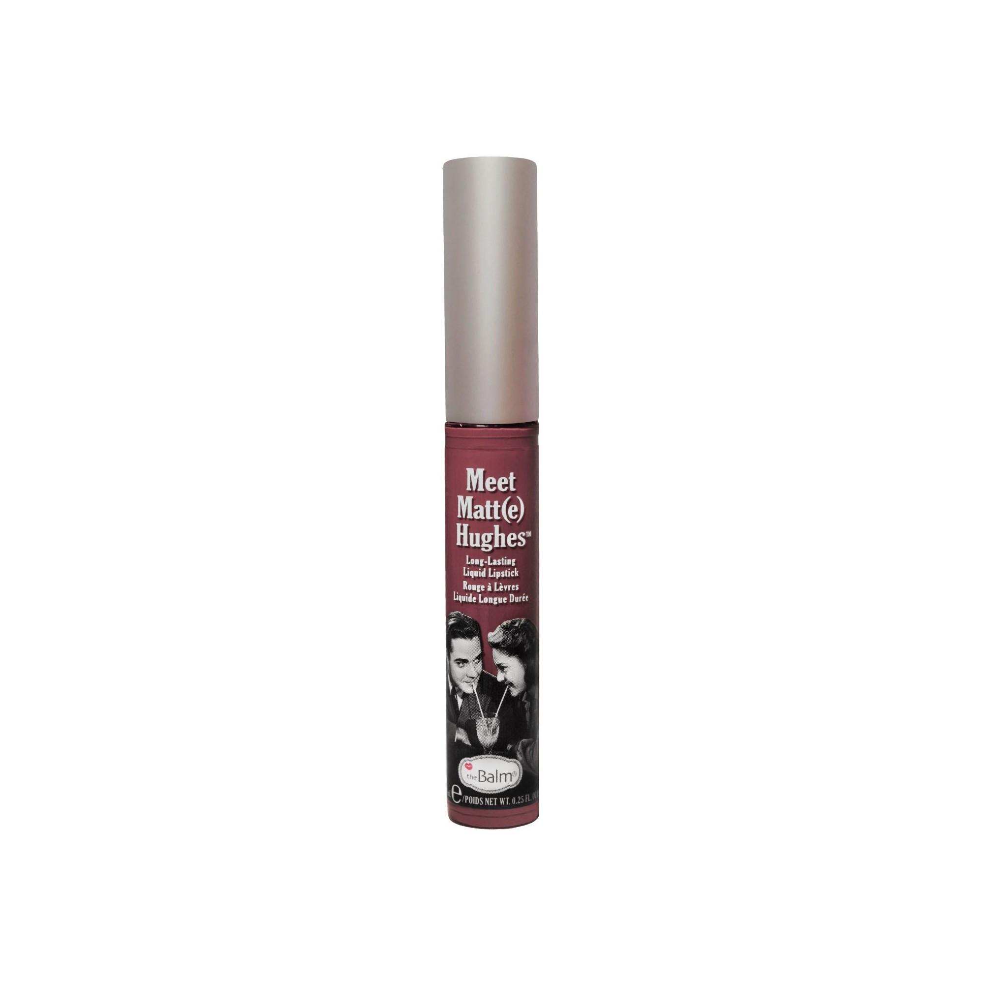 the balm meet matte hughes liquid lipstick charming tails