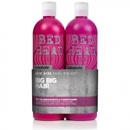 Tigi Bedhead Style Shots Epic Volume Shampoo And Conditioner Duo