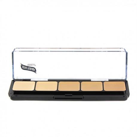 Graftobian HD Glamour Crème Foundation Palette Warm 1