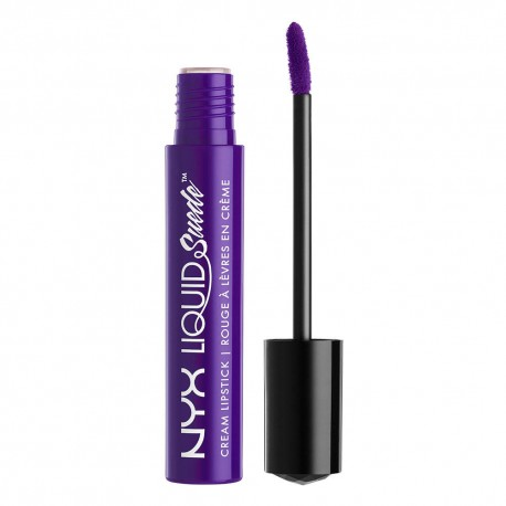 NYX Liquid Suede Cream Lipstick Amethyst