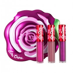 Lime Crime Fuchsia Rose Velve-Tin Set