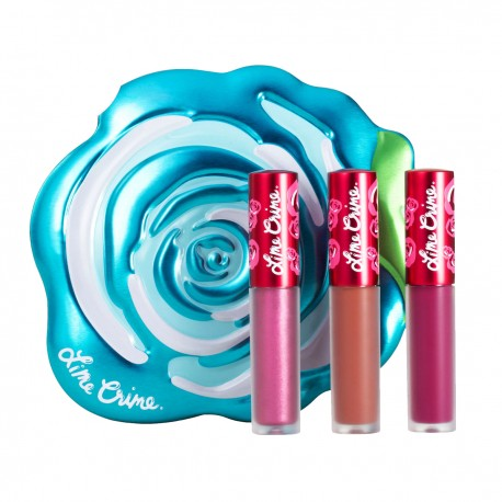 Lime Crime Blue Rose Velve-Tin Set