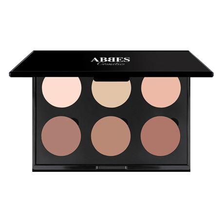 Abbes Cosmetics Contour Powder Palette Light