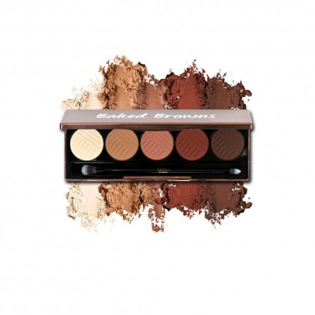 Dose Of Color Baked Browns Eyeshadow Palette