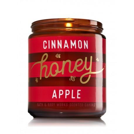 Bath & Body Works Cinnamon Honey Apple Scented Candle