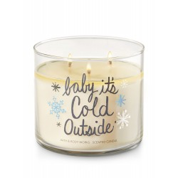 Bath & Body Works Fireside 3 Wick Scented Candle