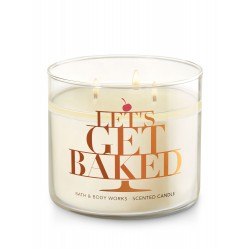 Bath & Body Works Creamy Nutmeg 3 Wick Scented Candle