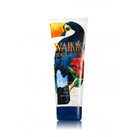 Bath & Body Works Waikiki Beach Coconut Ultra Shea Body Cream