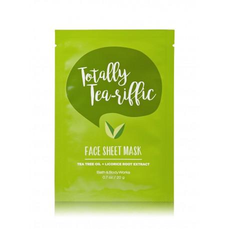 Bath & Body Works Totally Tea-Riffic Face Sheet Mask
