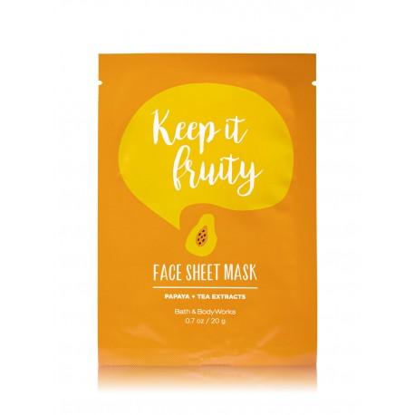 Bath & Body Works Keep It Fruity Face Sheet Mask