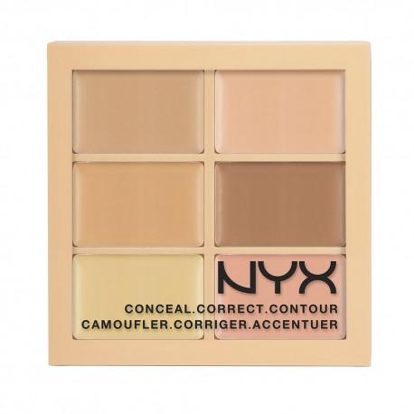 NYX Conceal Correct Contour Palette Light