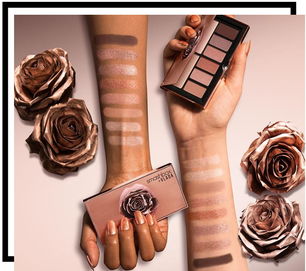 Smashbox x Vladamua Petal Metal Cover Shot Eye Shadow Palette