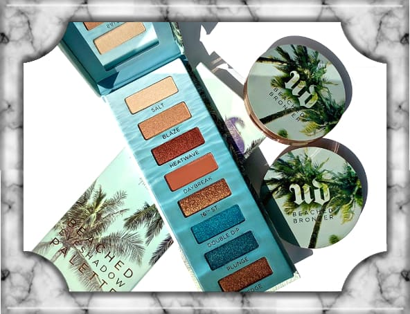 Urban Decay Bleached Collection Eyeshadow Palette Bronzer