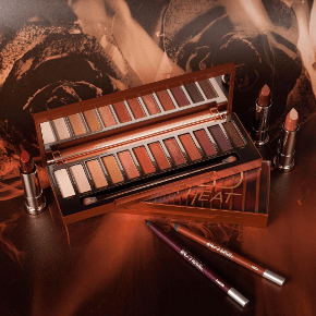 Urabn Decay Naked Palettes Naked Heat Maquillage