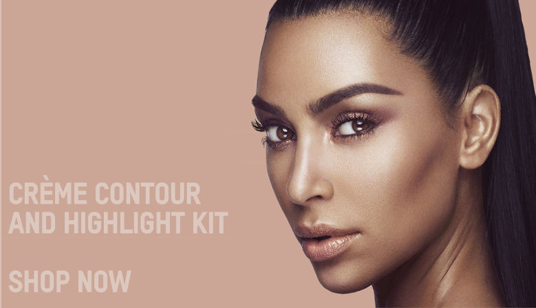 KKW Beauty Creme Contour And Highlight Kit KKW Creme Liquid Lipstick Collection Makeup Sens