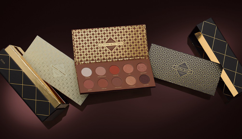 Zoeva Plaisir Box Palettes Fards a Paupieres Caramel Melange Blanc Fusion Cocoa Blend