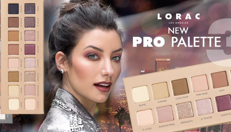 Lorac Pro 3 Palette