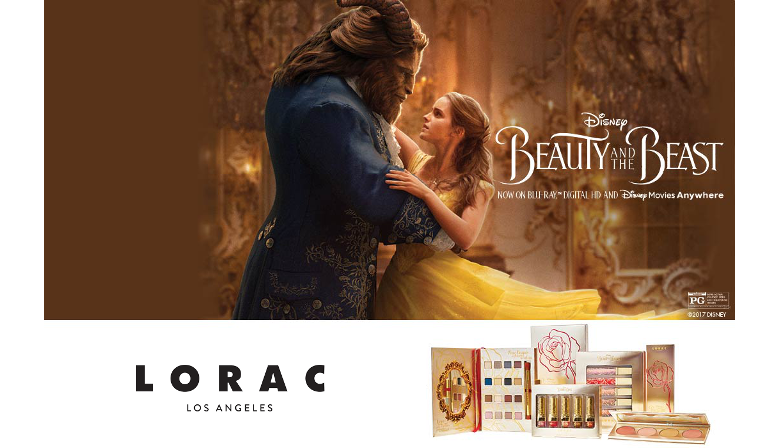 Lorac Beauty and the Beast PRO Disney Collection Edition Limitée