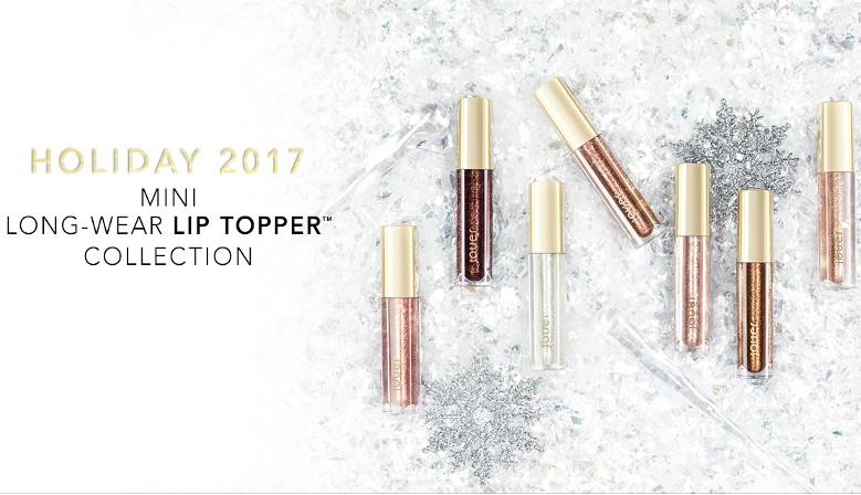 Jouer Cosmetics Gift Set Coffret Lip Creme Lip Topper Noel 2017