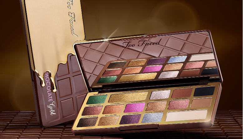 Too Faced Chocolate Gold Bar Eyeshadow Palette Fards à paupières