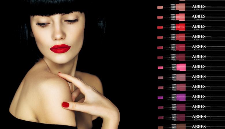 Abbes Cosmetics Liquid Lipstick rouge à lèvres liquide sans transfert produits de beauté et maquillage américain acheter maquillage en ligne