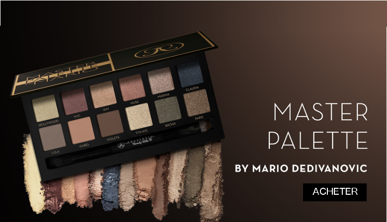 Anastasia Beverly Master Palette By Mario Dedivanovic Fards a Paupieres Edition Limitee