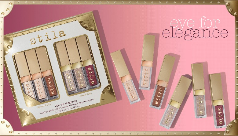 Stila Eye For Elegance Liquid Eye Shadow Set Coffret Noël
