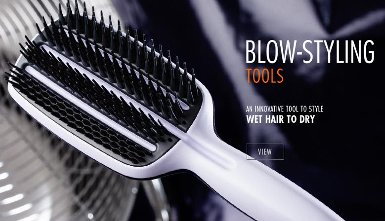 Tangle Teezer Brosse Cheveux Demelante Coiffure The Original Compact Styler Aqua Splash Blow Styling Detangling Hairbrush