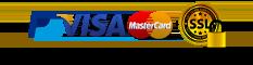 Paiement sécurisé CB, VISA, MasterCard, PayPal