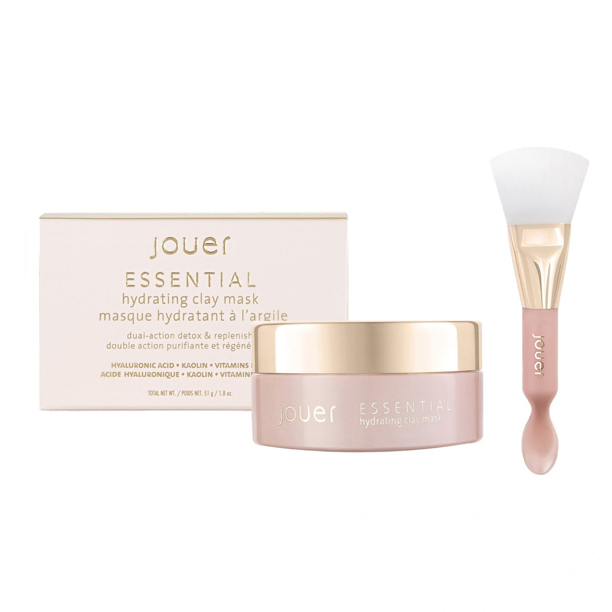 Jouer Cosmetics Essential Hydrating Clay Mask Dual-action Detox & Replenish