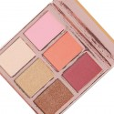 BH Cosmetics Blushing in Bali 6 Color Blush & Highlighter Palette