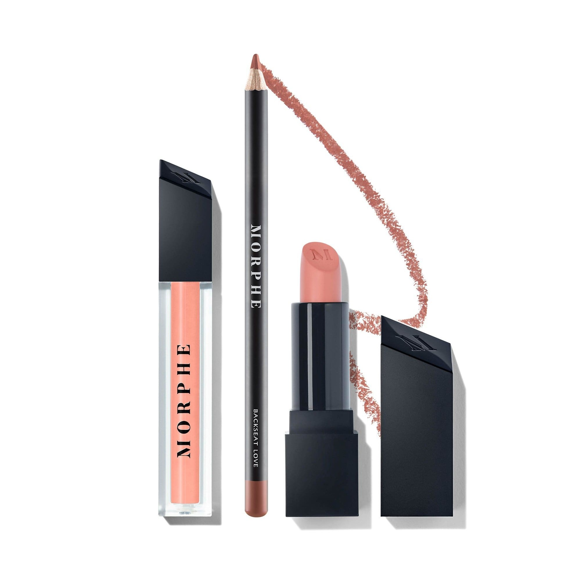 Morphe Nude Pink Lip Trio