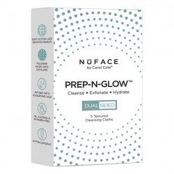 Nuface Prep-N-Glow Cloths 5 Pack