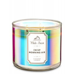 Bath & Body Works Crisp Morning Air 3 Wick Scented Candle
