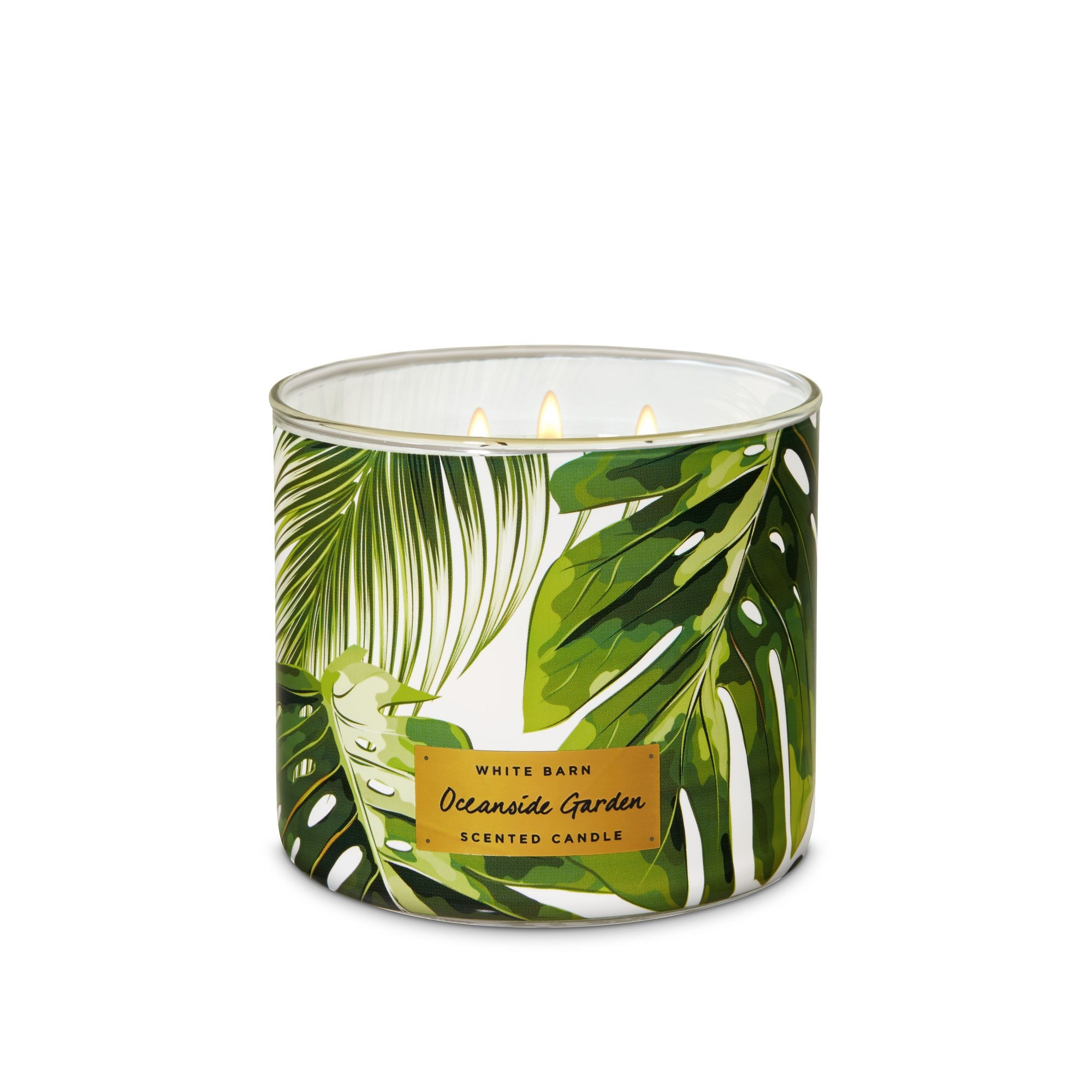 Bath & Body Works Oceanside Garden 3 Wick Scented Candle
