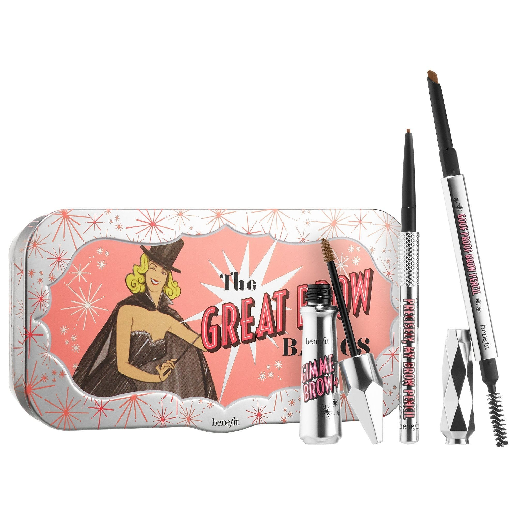 Benefit Cosmetics Great Brow Basics Pencil & Gel Set