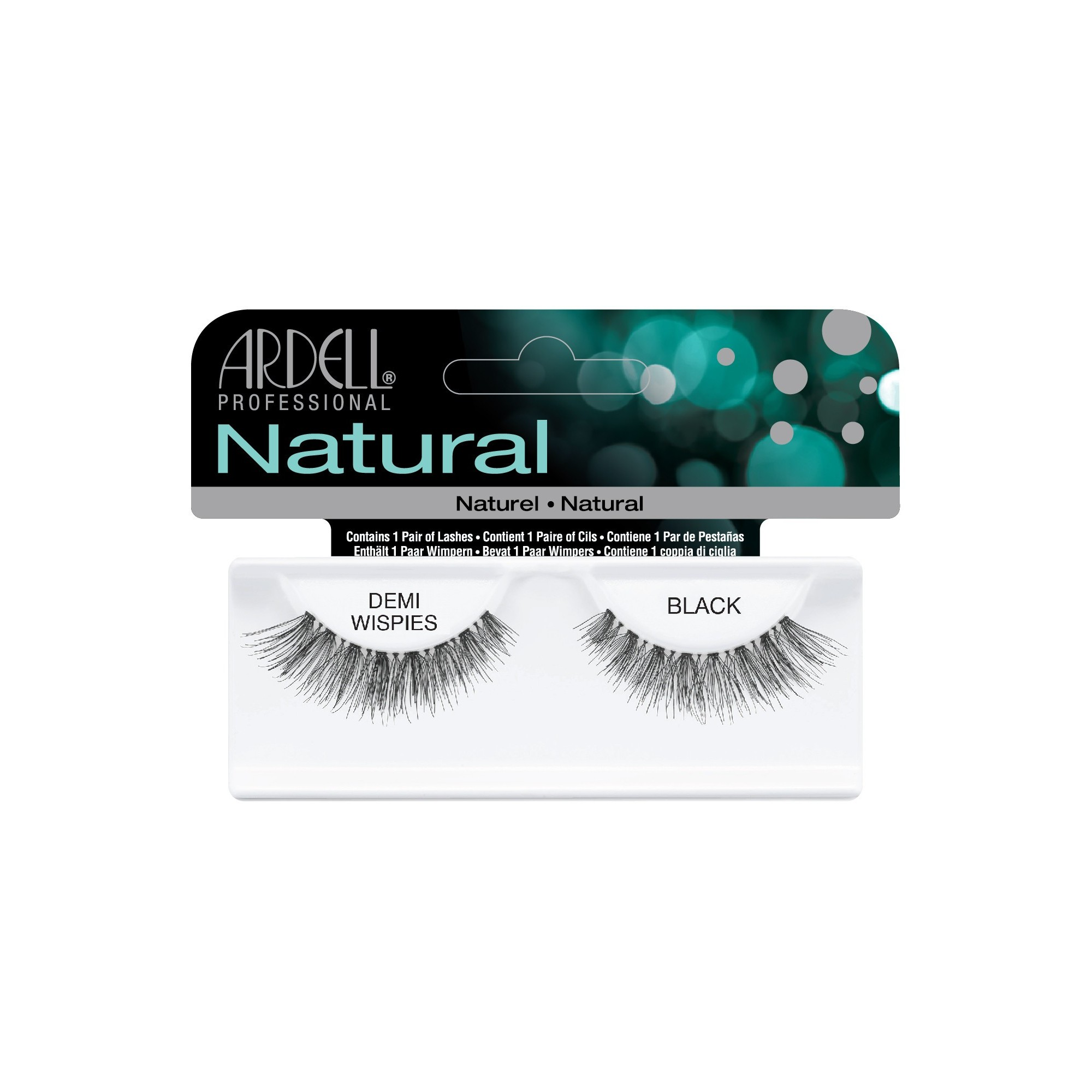 Ardell InvisiBands Demi Wispies Black