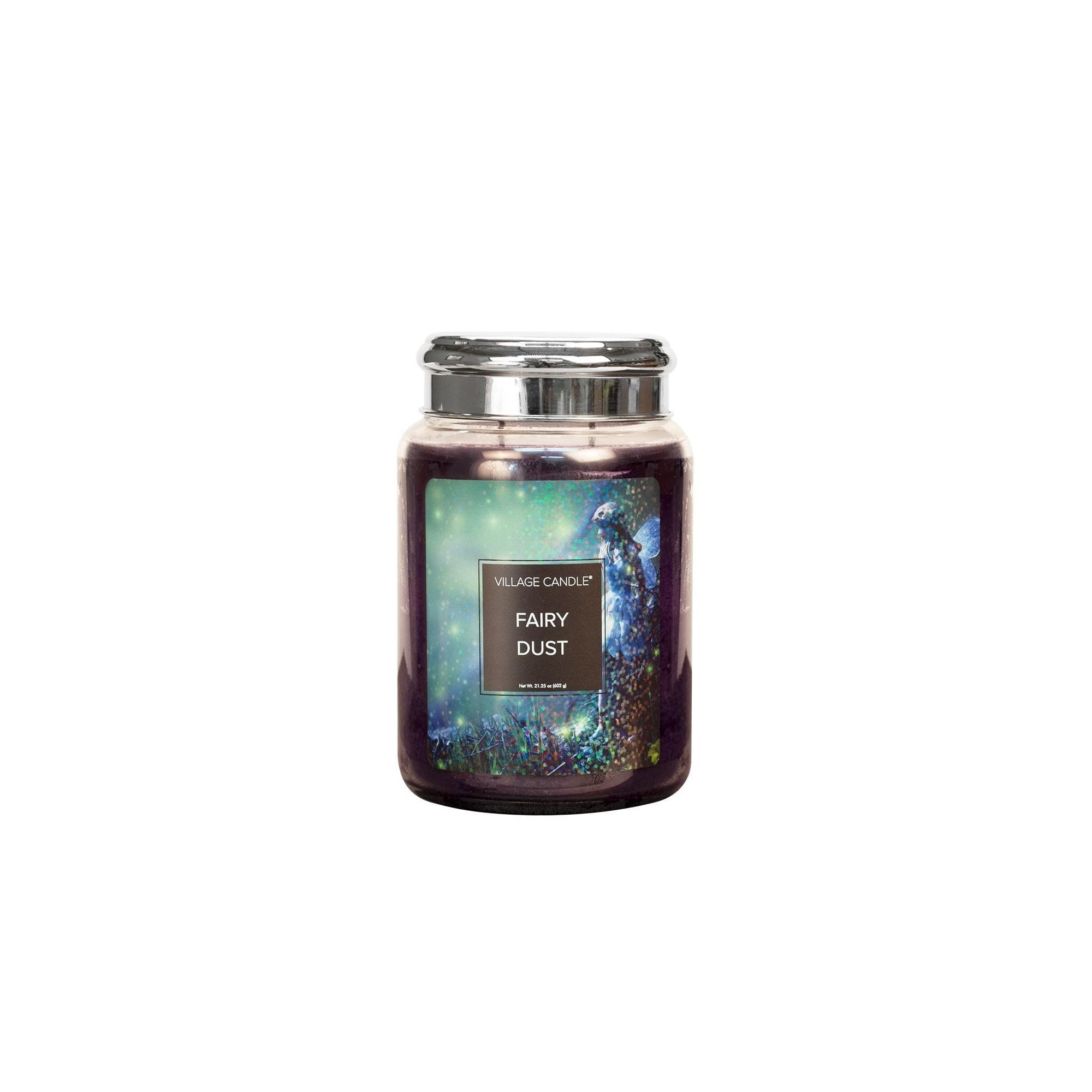 Village Candle Fairy Dust Large Glass Jar - Fantasy Collection