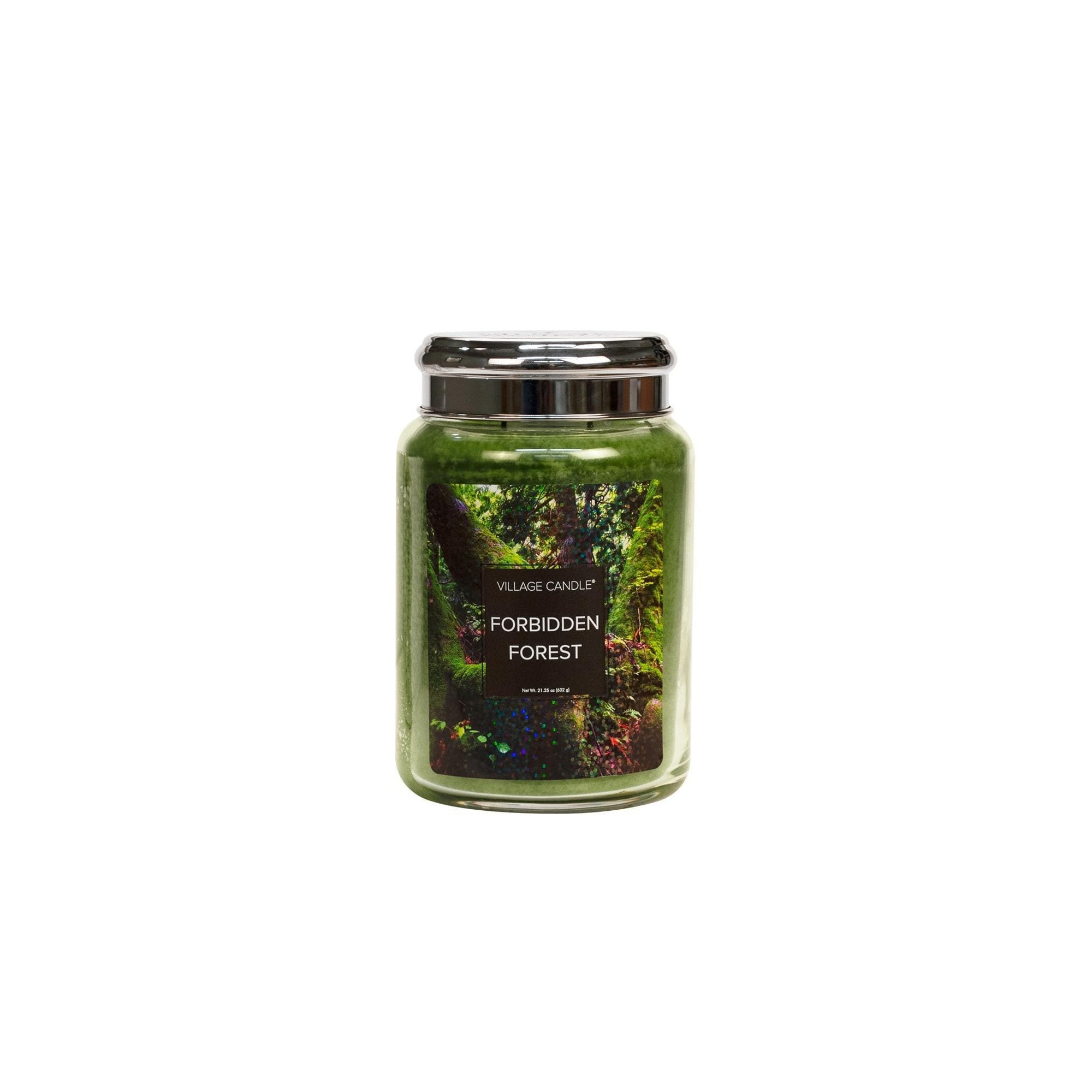 Village Candle Forbidden Forest Large Glass Jar - Fantasy Collection