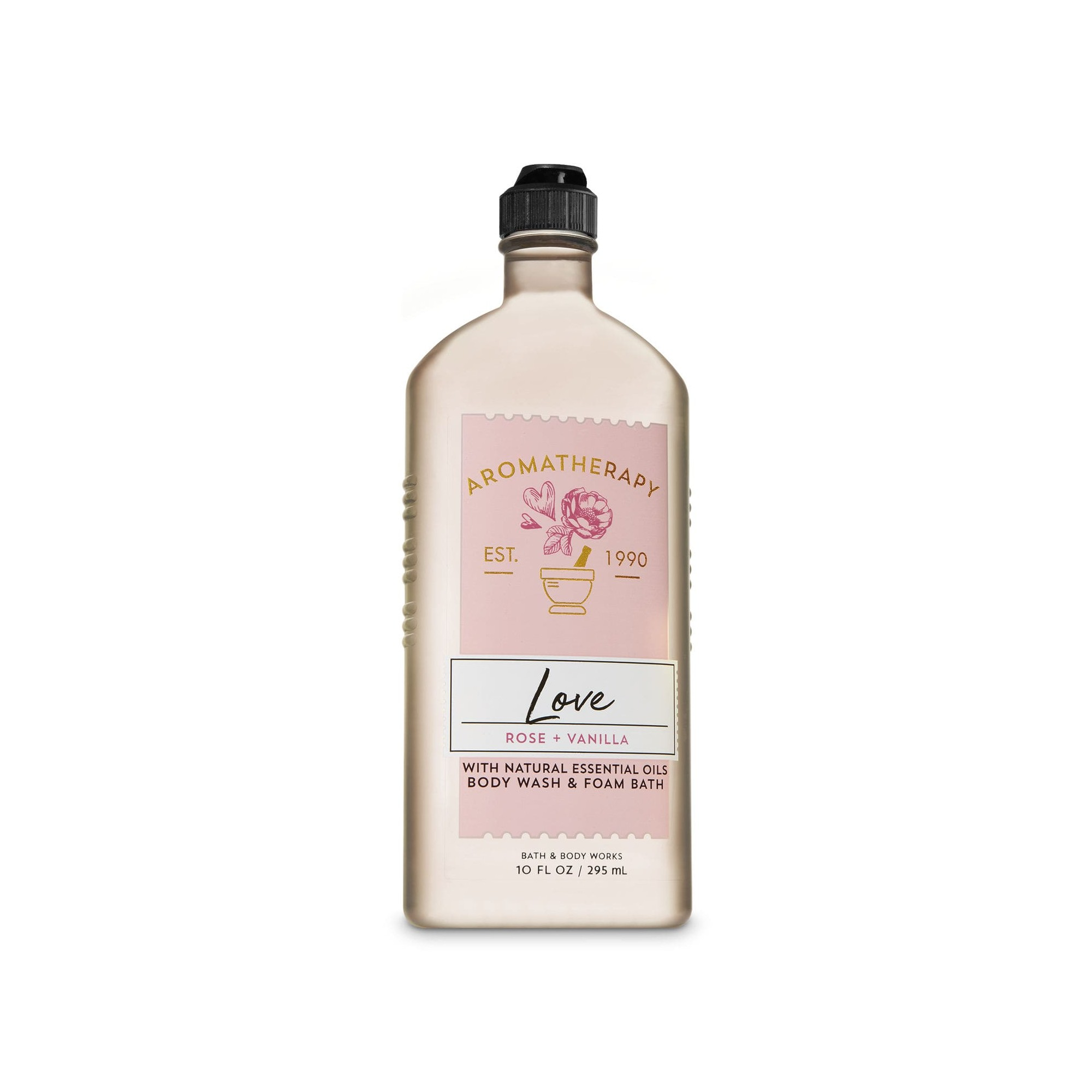 Bath & Body Works Aromatherapy Love Rose Vanilla Body Wash