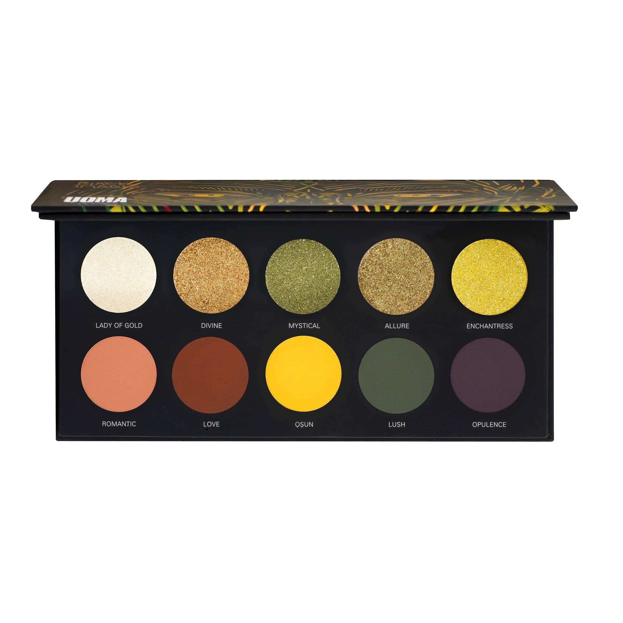 Uoma Beauty Black Magic Color Allure Palette