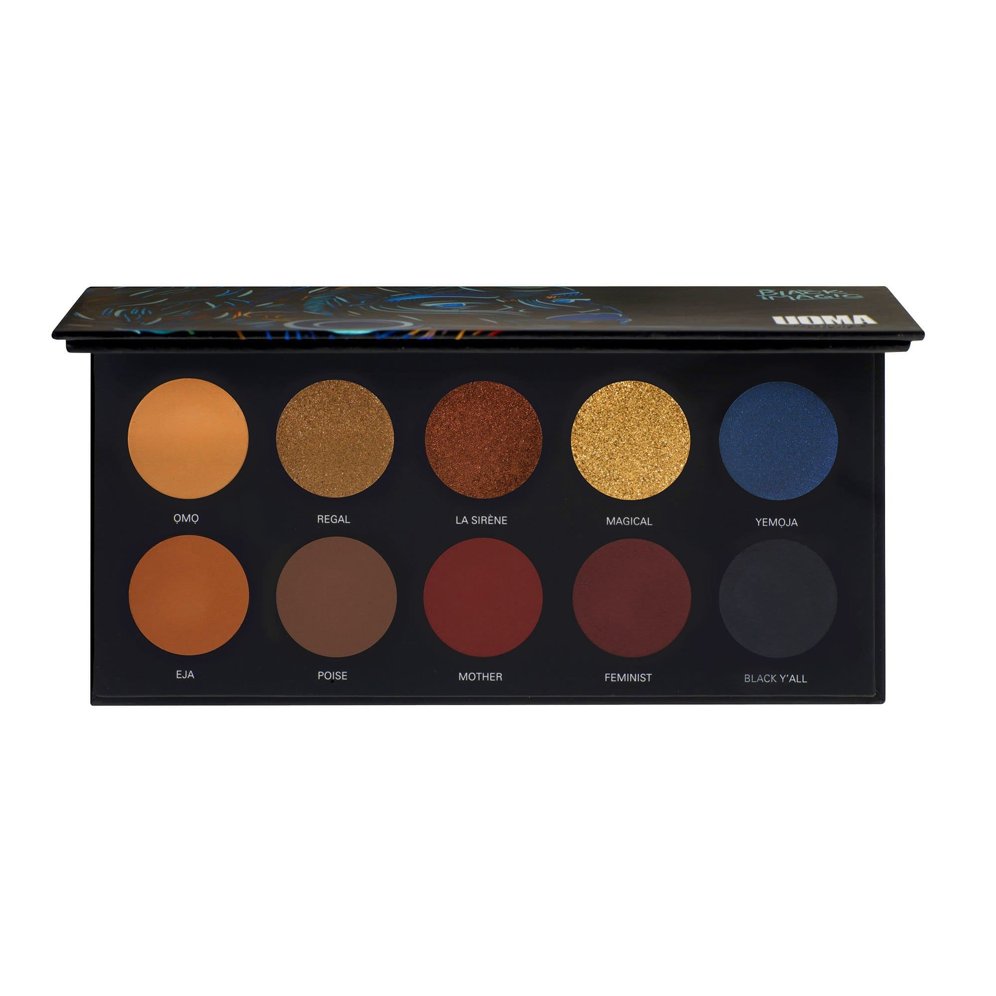 Uoma Beauty Black Magic Color Poise Palette