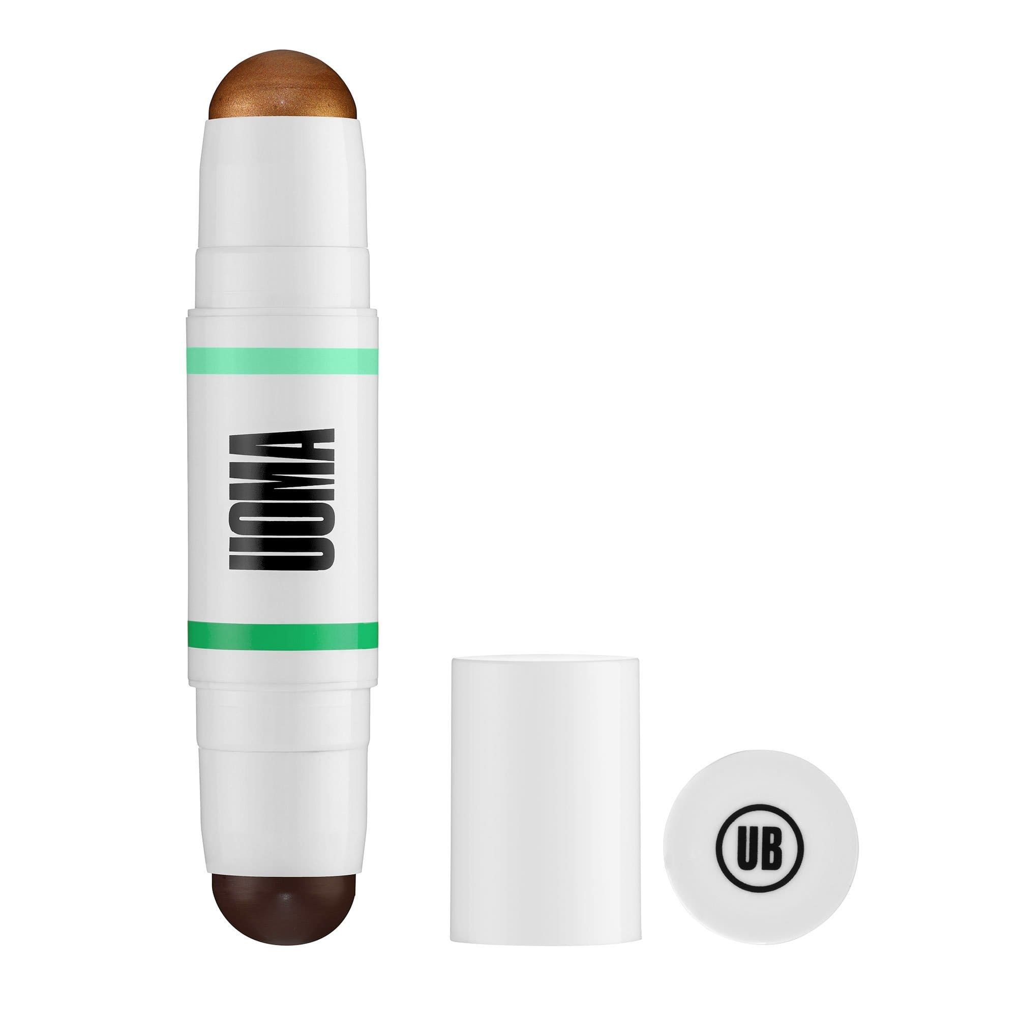 Uoma Beauty Double Take Sculpt & Strobe Contour Stick Black Pearl