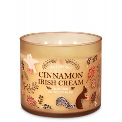 Bath & Body Works Cinnamon Irish Cream 3 Wick Scented Candle