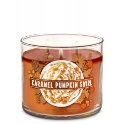 Bath & Body Works Caramel Pumpkin Swirl 3 Wick Scented Candle