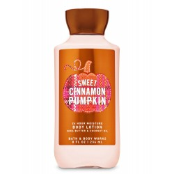 Bath & Body Works Sweet Cinnamon Pumpkin Super Smooth Body Lotion