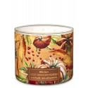 Bath & Body Works White Barn Sweet Cinnamon Pumpkin 3 Wick Scented Candle