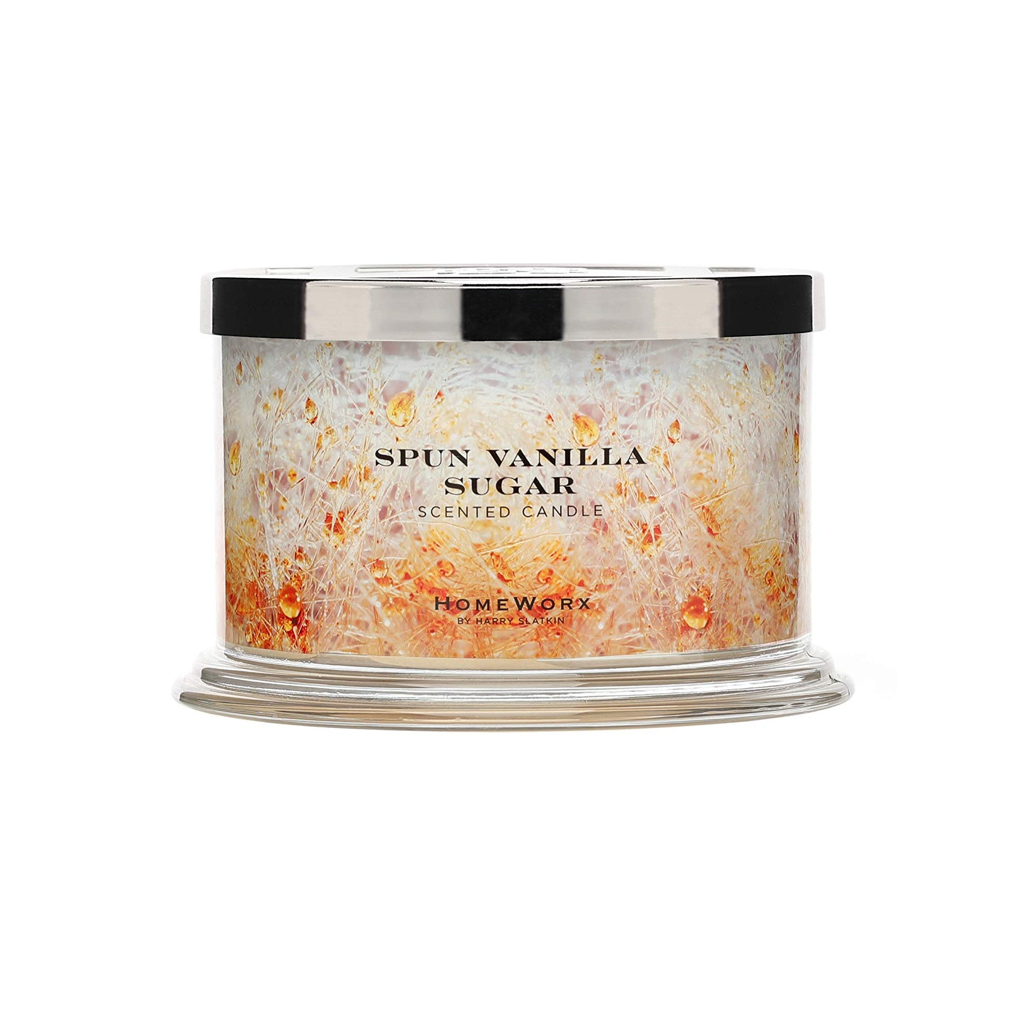 Homeworx by Harry Slatkin Spun Vanilla Sugar 4 Wick Candle