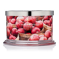 Homeworx by Harry Slatkin Crisp Apple Cider 4 Wick Candle