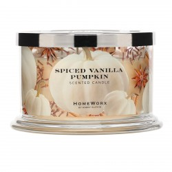 Homeworx by Harry Slatkin Spiced Vanilla Pumpkin 4 Wick Candle